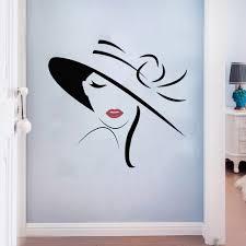 stickers muraux chambre fille ado creative mode fille amovible stickers muraux salon filles