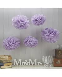 Pom Pom Decorations Find The Best Deals On Ginger Ray Vintage Lace Tissue Paper Pom