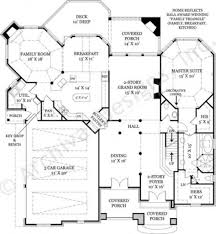 House Plans With Three Car Garage Campden Traditional House Plans Luxury House Plans