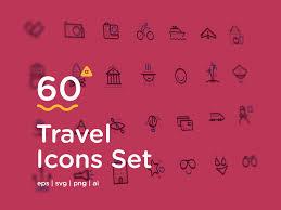 Travel Icons images 60 travel icons to awaken your wanderlust freebie smashing png
