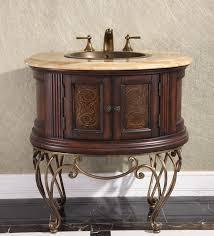 pedestal sink vanity cabinet legion 32 inch vintage pedestal bathroom vanity wb 1838l in dark