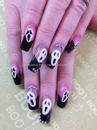 my halloween acrylic nailscute 3d ghostpumpkinsbats 6 youtube