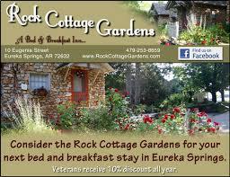 Rock Cottage Gardens Eureka Springs Veteran S View Rock Cottage Gardens