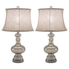 Mercury Glass Table Lamp Malia Mercury Glass Table Lamp Silver Abbyson Target