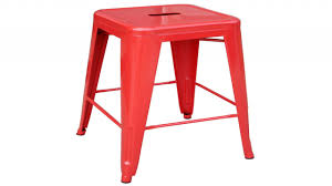dining room renovation red metal bar stools red metal stool
