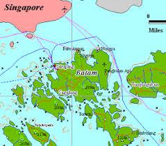 map batam batam map 2013