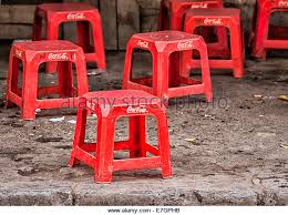 Coca Cola Chairs Red Coca Cola Stock Photos U0026 Red Coca Cola Stock Images Alamy