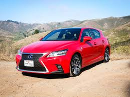 red lexus 2014 lexus ct 200h review roadshow