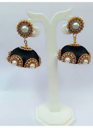 fancy jhumka earrings buy matching handmade designer south indian fancy jhumka 8661