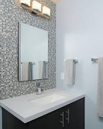brilliant mosaic tile accents bathroom with additional decorating