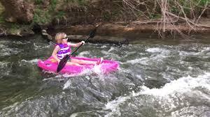 lifetime wave kayak for kids youtube