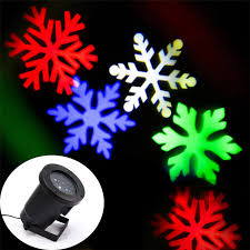 zinuo laser projector ls snow led stage light snowflakes