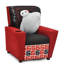 kidzworld disney u0027s big hero 6 kids recliner with cup holder