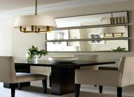 modern wall mirrors for dining room modern mirror dining table