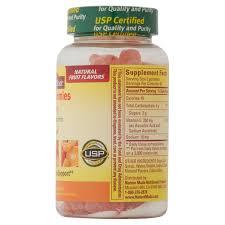 nature made vitamin c orange gummies 80 count walmart com