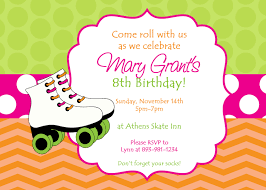 Birthday Invite Cards Free Printable Party Invitations Best Skating Party Invitations Cards Ideas