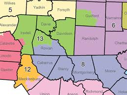 congressional districts map near ok salisbury post