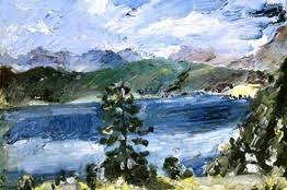 Impressionist Landscape Painting by German Impressionist Landscape Painting At The Museum Of Fine Arts