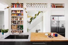 kitchen style modern bookshelf kitchens bookshelves kitchen