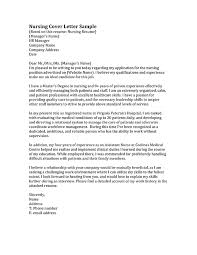 21 cover letter template for sample nurse letters gethook intended