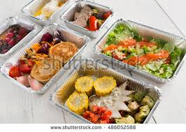 healthy food delivery take away natural stock photo 433559266