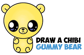 gummy bears archives draw step step drawing tutorials