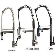 Spring Pull Down Kitchen Faucet Spring Pull Down Faucet Ebay