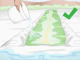 3 ways to make a long slip and slide wikihow