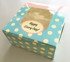 polka dot boxes cake box polka dots