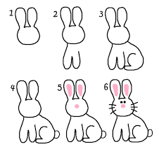 how to draw easter