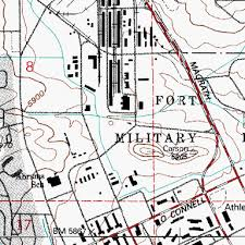 fort carson map fort carson and emergency services station 32 co