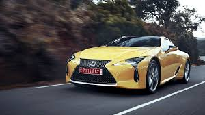 lexus lc 500 launch date lexus expects to sell 400 lc 500 coupes a month