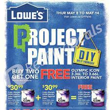 lowe u0027s weekly flyer weekly flyer project paint may 8 u2013 14