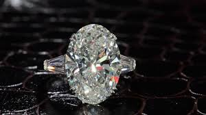 oval shaped engagement rings large oval shaped diamond engagement ring with tapered
