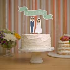 wedding toppers 9 adorable personalized cake toppers for your wedding cake