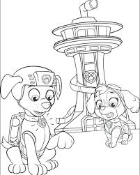 happy birthday paw patrol coloring page paw patrol coloring pages www glocopro com