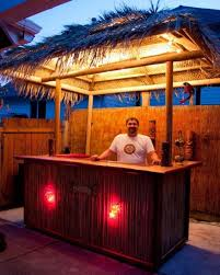How To Build A Tiki Hut Roof How To Build A Tiki Bar With A Thatched Roof Tiki Bars