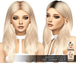 custom hair for sims 4 pictures custom content for sims 4 black hairstle picture