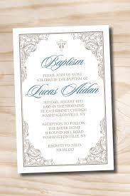 fancy invitations fancy baptism custom baptism invitation christening
