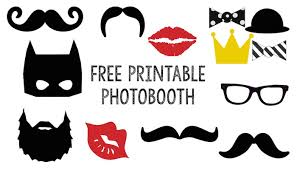 photo booth free printable photobooth paper trail design