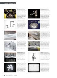 i3 lavatory faucet featured in the 2017 buyers u0027 guide from kitchen