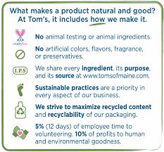 amazon com tom u0027s of maine natural original care deodorant stick