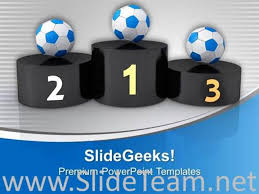 award ceremony for football powerpoint template powerpoint template