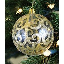 Fire Retardant Christmas Ornaments by Amazon Com Festive Season Assorted Ripple Christmas Tree Ornament