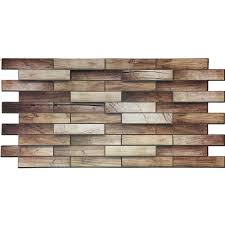 Walnut Backsplash Panel  X   PVC Tile Antique Ceilings - Pvc backsplash
