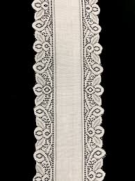 ivory lace table runner lace table runner crochet ivory cv linens