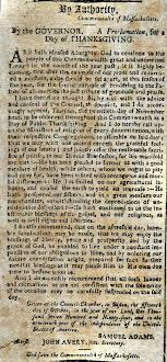 proclamation thanksgiving day 1794 massachusetts wallbuilders