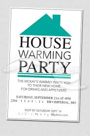 Party Invitation Card Design Perfect White Background Colors With Wording And Housewarming