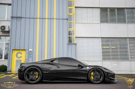 ferrari custom black on black ferrari 458 italia by luxury custom gtspirit
