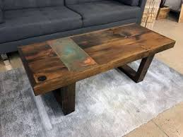 Custom Coffee Table by Home Furnishings Grain Designs